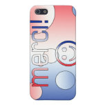 French Gifts : Thank You / Merci + Smiley Face iPhone 5 Cases