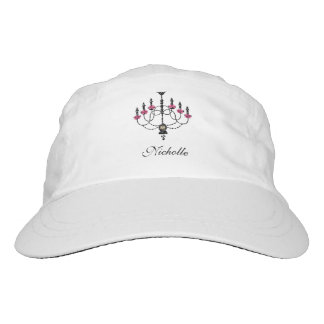 French Girlie Chandelier Headsweats Hat