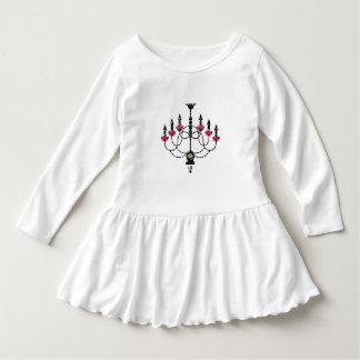 French Girlie Chandelier T Shirt
