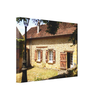 French Gite Canvas Print