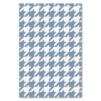 French Gray Elegant Houndstooth Tissue Paper