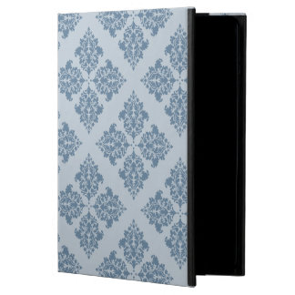 French Gray Moroccan Damask Case For iPad Air