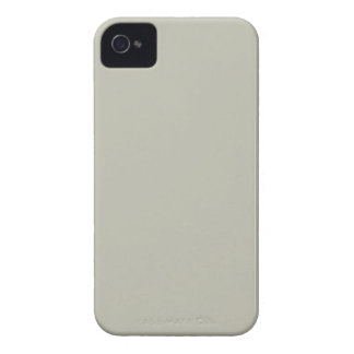 French Grey 2a Custom Design Color Only iPhone 4 Case-Mate Case