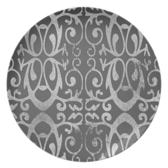 French Grey Plate