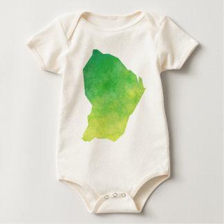French Guiana Baby Bodysuit