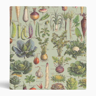 French Guide To The Garden Vinyl Binder