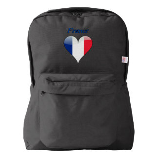French heart backpack