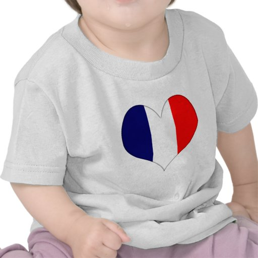 French Heart Tee Shirts