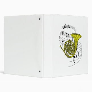 French Horn Binder