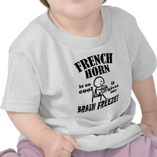 French Horn, Brain Freeze Tees