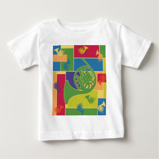 French Horn Colorblocks Baby T-Shirt