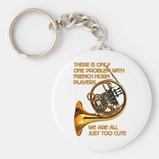 French Horn Cutie Keychain