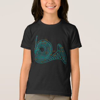 French Horn Girls T-Shirt