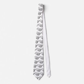 French horn instrument tie