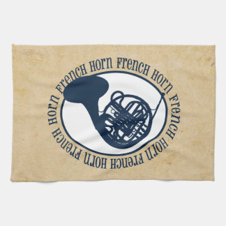 French Horn Kitchen Towel