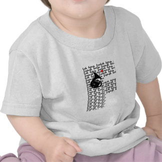 French Horn Letter F T-shirts