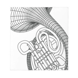 French horn notepads