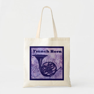 French Horn on Purple