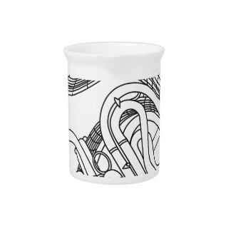 French horn pitcher