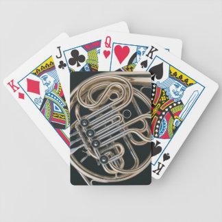 French Horn Poker Deck