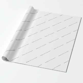 French-Horse Wrapping Paper