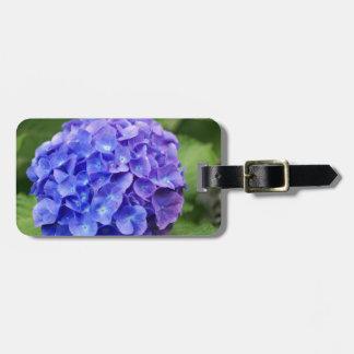 French hydrangea (Hydrangea macrophylla) Luggage Tag