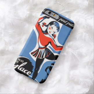 French Ice-Skating Girl iPhone Case 6 Barely There iPhone 6 Case