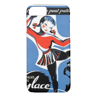 French Ice-Skating Girl iPhone Case 6