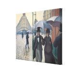 French Impressionism | Paris A Rainy Day Canvas Print