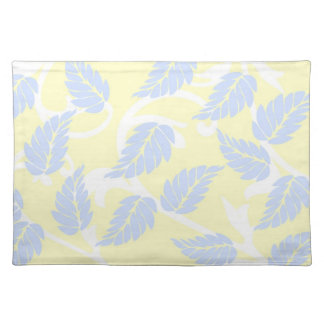 French Inspired Leaves Placemats