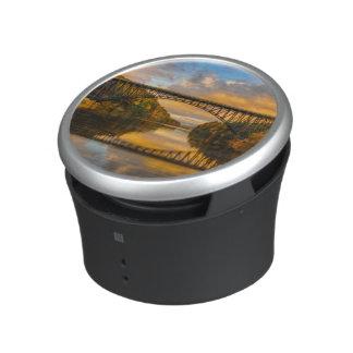 French King Bridge in Fall Bluetooth Speaker