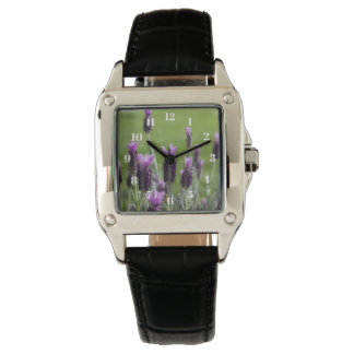 French Lavender Flowers Women's Watch