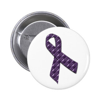 French Lilac 2 Inch Round Button