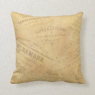 French Linen Throw Pillow