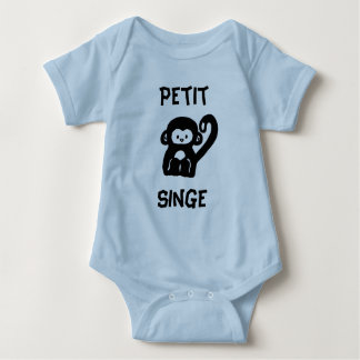 French Little Monkey Baby Creeper Romper