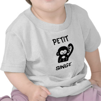 French Little Monkey Baby T-shirt