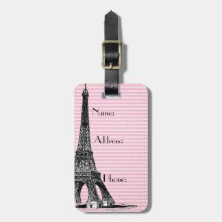 French Luggage Tag