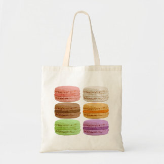 French Macarons - muti-colored pastels Tote Bag