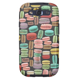 French Macarons Pop Art Galaxy SIII Case