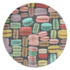 French Macarons Pop Art Plate