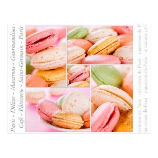 French Macarons Postcard
