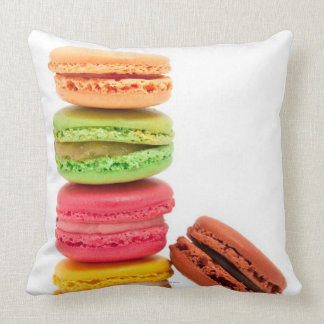 French macaroons throw pillows