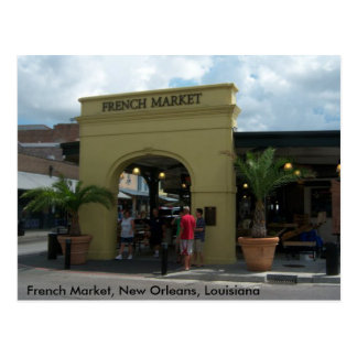 French Market New Orleans Postcard