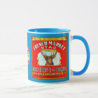 French Market Stag Roasted Coffee and Chicory Mug
