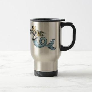 French Mer Maid Travel Mug