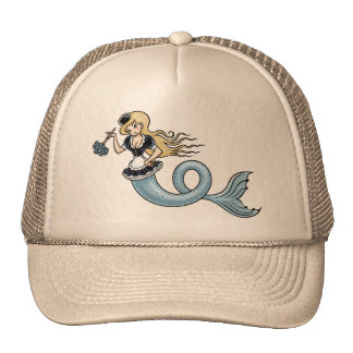 French Mer Maid Trucker Hat