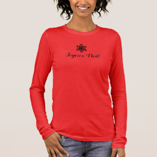 French Merry Christmas Long Sleeve T-Shirt