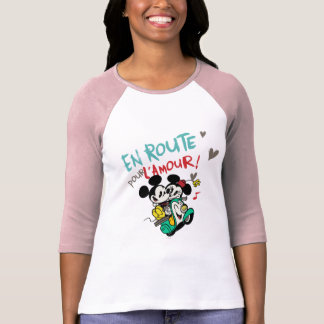 French Mickey   En Route pour L'Amour T-Shirt
