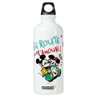 French Mickey | En Route pour L'Amour Water Bottle