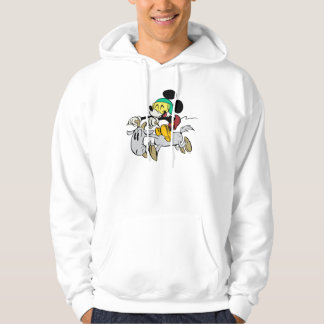 French Mickey | Happy on Vespa Hoodie